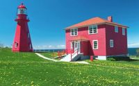 La Matre Lighthouse, Quebec, Canada