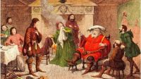 Falstaff from the Merry Wives of Windsor by Shakespeare.