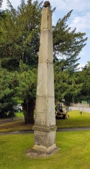 Milestone Obelisk Craven Arms Shropshire UK