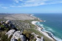 View from above Scarborough, S Africa