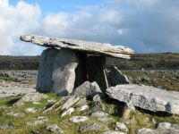 Dolmen in the Burren, County Clare, Ireland