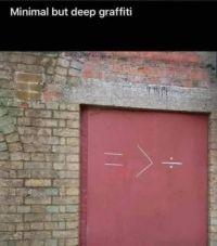 minimalist graffiti