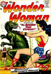 """Wonder Woman in """"The Runaway Time Express"""""""
