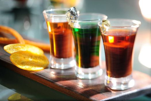 Three Alcoholic Chocolate Shots, by InterContinental Hong Kong on flickr