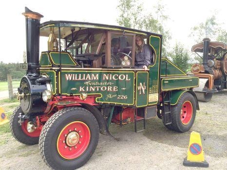 Foden Steam Lorry 1