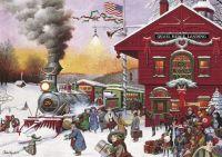 Charles Wysocki Whistle Stop Christmas
