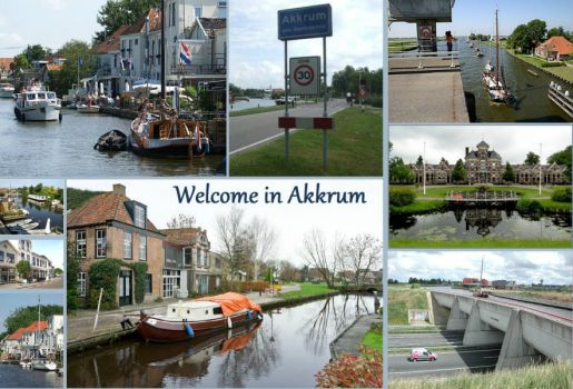 Friesland, Towns and villages, Akkrum.