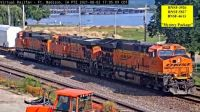 """BNSF-3926 BNSF-5827 BNSF-4613 at FMD & """"Mystery Package"""""""