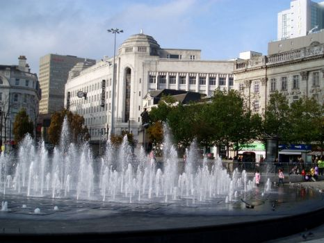Piccadilly Gardens, Manchester (2)