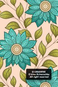 Floral pattern f1_23-5 (version for mobile)