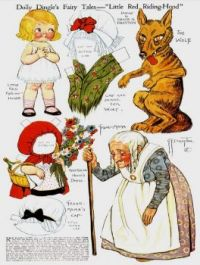 Paper Doll  ~  Dolly Dingle  ~  Red Ridinghood