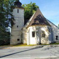 Libínské Sedlo - kostel, okr. Prachatice