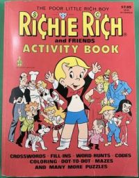 Richie Rich and Friends Activity Book