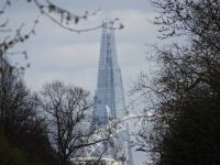 The Shard and London Eye