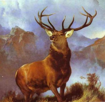 Landseer - Monarch of the Glen (1851)
