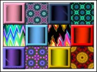 Patterned and Plain Blocks
