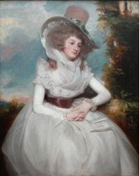 George Romney - Catherine Clemens 1788