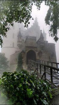Château de Chillon dans la brume, Switzerland  5829