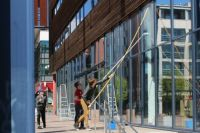 Cleaning Windows of Conservatoire