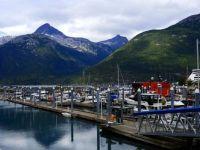 Harbor in Skagway, Alaska