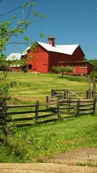 Red Barn & Fence