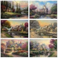 cottages collage