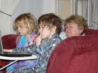 Meemaw and grandchildren