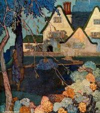 House & Garden illustration, June 1917