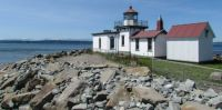 West Point Lighthouse, Discovery Park in Seattle
