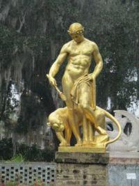 Statue in Brookgreen Gardens