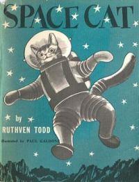 THEME - MY  FAVORITE  BOOKS - Space Cat