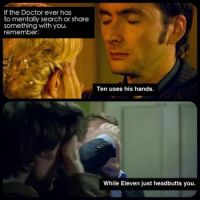 The 10th or 11th Doctor