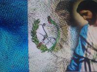 GUATEMALA FLAG & JESUS