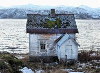 Old House in Senja, Northern Norway
