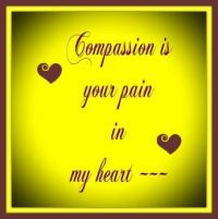 Compassion is . . . . .