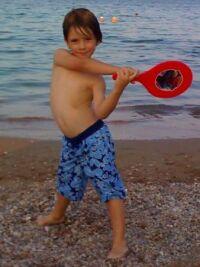 jianni at beach