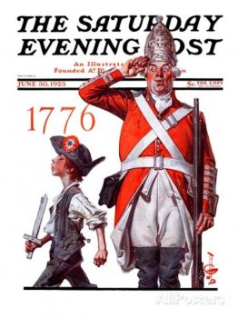 joseph-christian-leyendecker-fourth-of-july-1776-saturday-evening-post-cover-june-30-1923