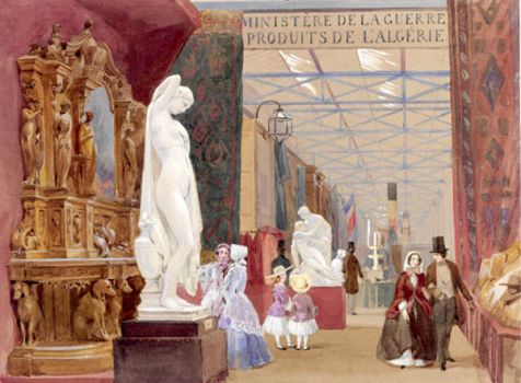 Part of the French Court, 1851 by John Absolon