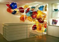 Chihuli Blown Glass Sculpture