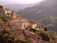 Les Baux, French medieval village