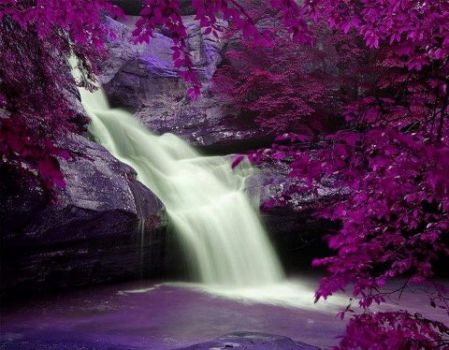 awesome waterfall