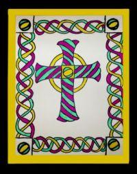 Alyssa's celtic cross
