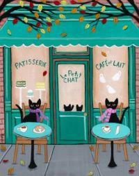 Paris Cafe Feline