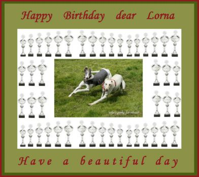 Happy birthday dear Lorna (goingsilver)