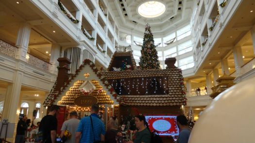 Gingerbread House at  Grand Floridian Resort