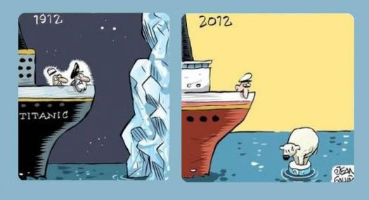 Weather report from 1912 and 2012 :-)