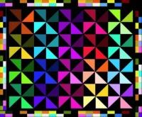 triangular colour