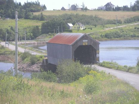 Tynemouth Creek, NB covered bridge