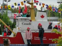 Canada Coast Guard float