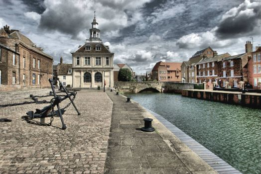 HDR of the Custom House, Purfleet Quay, Kings Lynn - 7th Aug 2012